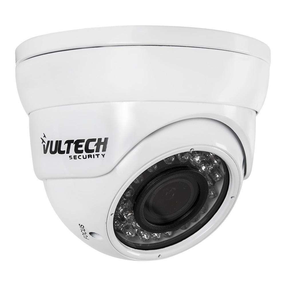 Telecamera Dome Varifocale AHD 1,3MPX 960p Bianca
