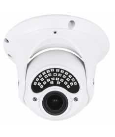 Ip Camera 2MPX 1080P Dome ottica varifocale 2,8 - 12 mm POE