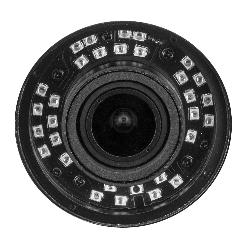 Ip Camera 4MPX Bullet ottica varifocale 2,8 - 12 mm POE WDR